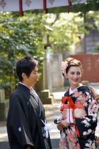 Japanische Hochzeit