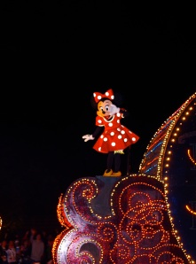 Minnie bei der Electrical Parade