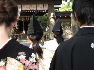 Ein Foto von unserer japanischen Hochzeit