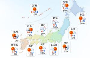 via Yahoo!天気