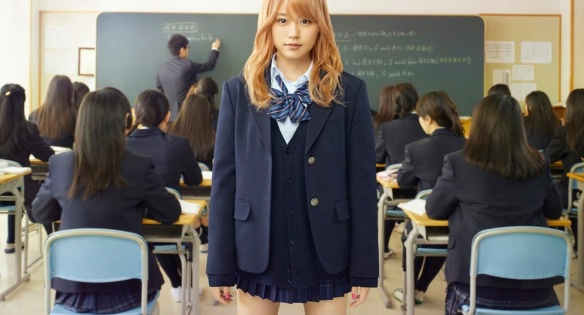 ビリギャル (Birigyaru) verkörpert, wie eine schlechte Schülerin aussieht. Wenn nur alle schlechte Schülerinnen 有村架純 (Arimura Kasumi) wären...