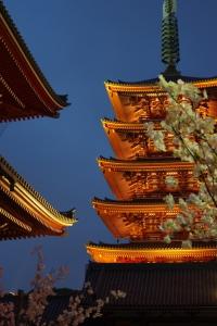 浅草寺 (Sensô-ji; Sensô-Tempel) in 浅草 (Asakusa).