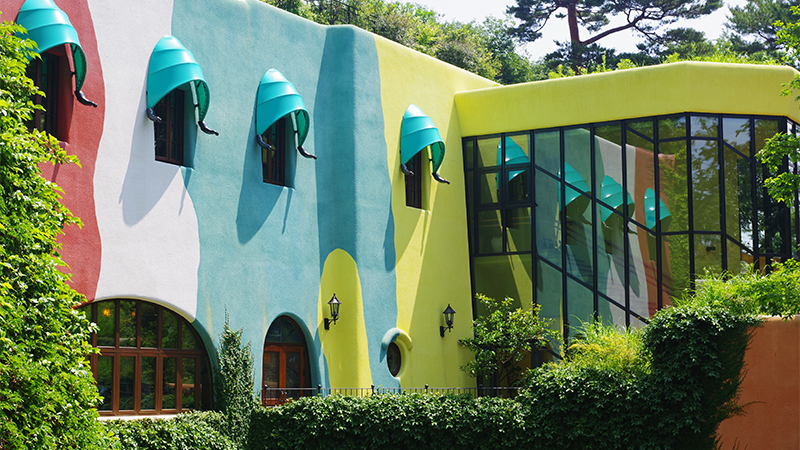 ghibli museum outside