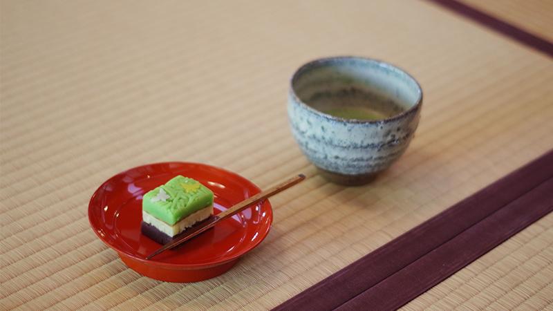 kamakura matcha wagashi